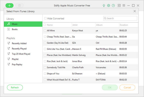 add apple music to sidify free